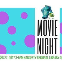 Movie Night at Hardesty