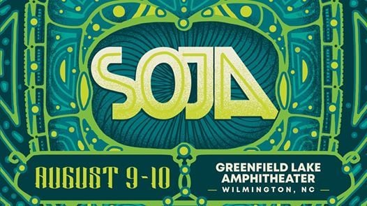 SOJA at Greenfield Lake Amphitheater
