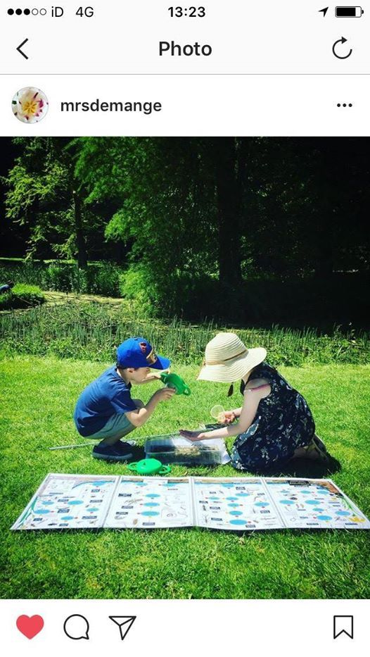 Childrens Event Pond Dipping