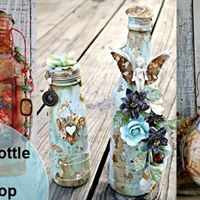 Altered Bottle Art Workshop