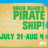 Green Beards Pirate Ship - Summer Camp (ages 3-8)