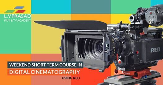 Short Term Course in Digital Cinematography using RED