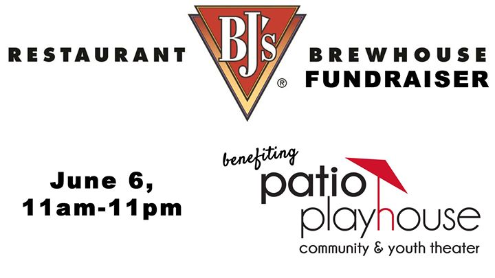 patio playhouse fundraiser bjs restaurant - Patio Playhouse