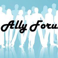White Ally Forum