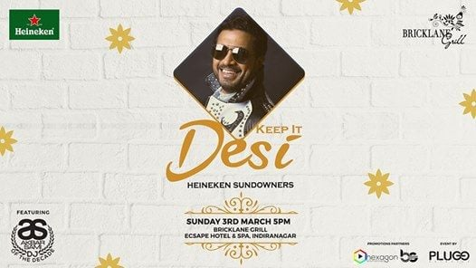 Dj Akbar Sami  Sunday Sundowner at Bricklane Grill Indiranagar