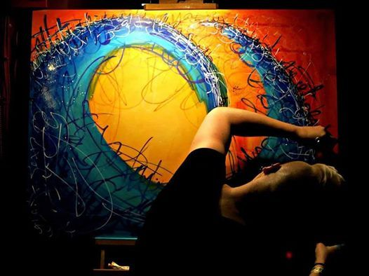 Live Painting by Hanna Bruer