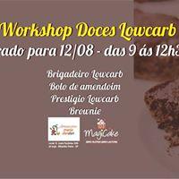 Workshop Doces Lowcarb