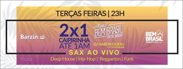 Festa Bem Brasil no Barzin