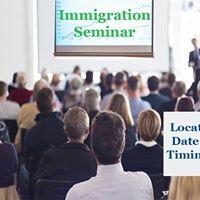ISA Global Immigration Seminar in Gurgaon