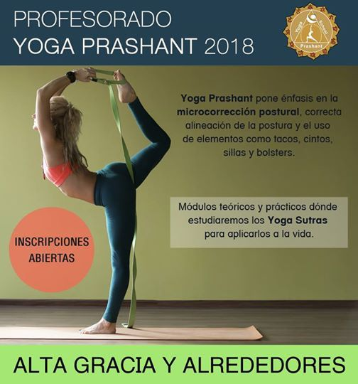 Profesorado de Yoga Prashant at Yoga