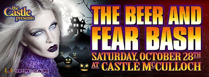 The Beer and Fear Bash at Castle McCulloch