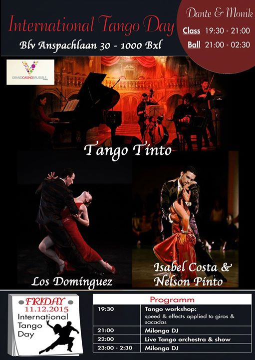 National day of Tango in Brussels 6 Edition