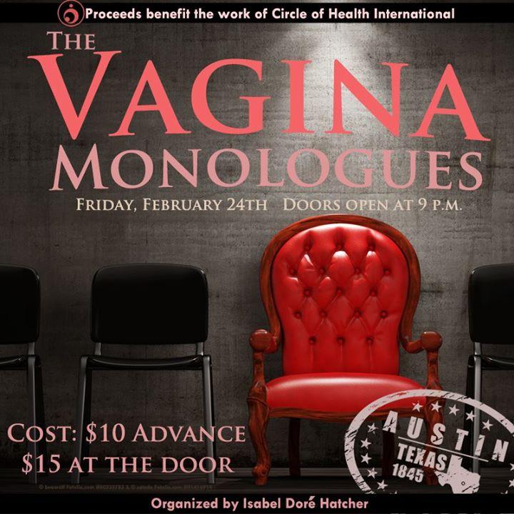 ATX Vagina Monologues Benefiting Circle of Health at Spider House Cafe and  Ballroom, Austin