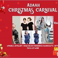Adaah Christmas Carnival 23-24-25 Dec Hotel Ramada Gurgaon