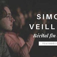 Rcital Fin de Bac JAZZ Simon Veilleux