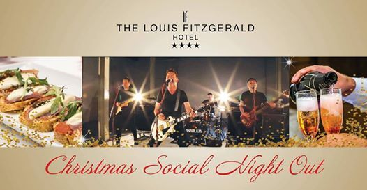Christmas Social Night at The Louis Fitzgerald Hotel