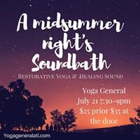 A Midsummer Nights Soundbath