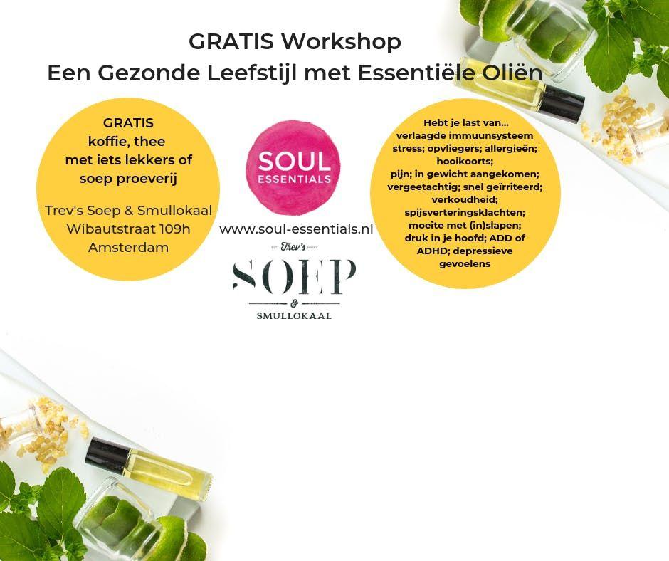 GRATIS Workshop - Een Gezonde Leefstijl met Essentile Olin