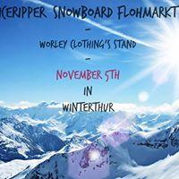 Iceripper Snowboard Flohmarkt  Worley Clothings Stand