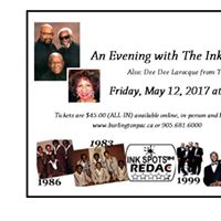 An Evening with The Ink Spots &amp Dee Dee Larocque of the Platters