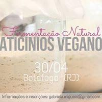 Workshop Fermentao Natural para Laticnios Veganos