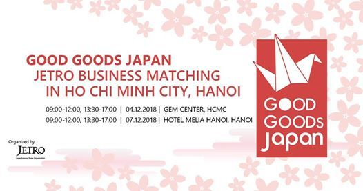 GOOD GOODS JAPAN JETRO BUSINESS MATCHING at GEM Center08