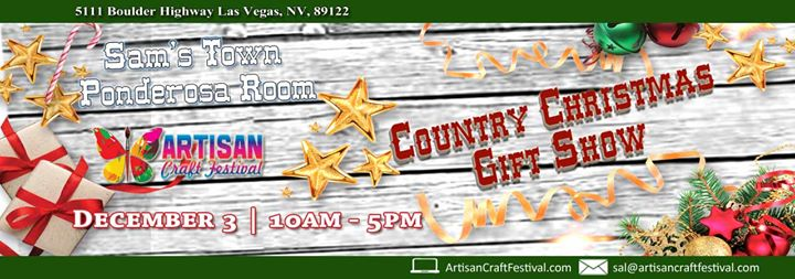 country christmas gift show sams town at sams town hotel and casino las vegas las vegas - Country Christmas Las Vegas