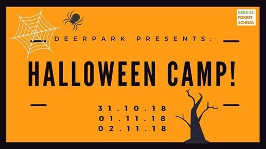 Halloween Camp [31st Oct 1st & 2nd Nov]