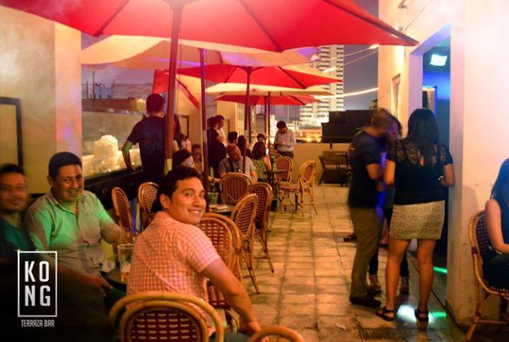 Chelas Sin Ningún Sentido At Kong Terraza Bar Lima