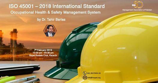 ISO 45001 - International Standard (OHSM)