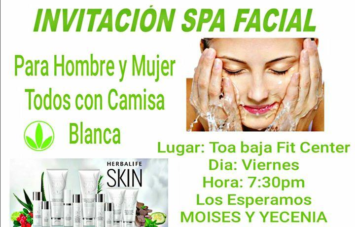 Spa facial herbalife skin at toa baja fit center toa baja - Que es un spa ...