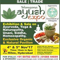 AyushExpo- AyurvedaYoga Naturopathy Unani SiddhaHomeopathyOrganicNatural Products.