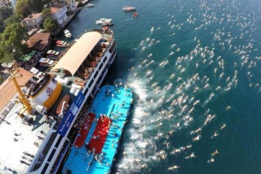 Bosphorus Cross-Continental Swimming Race - Boazii Yzme Yar