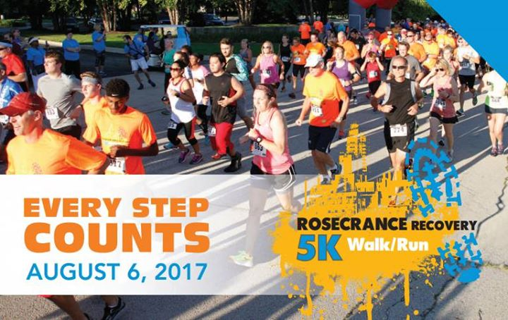 Every Step Counts: Rosecrance Recovery 5K Walk/Run at