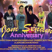 Jom Senam Anniversary