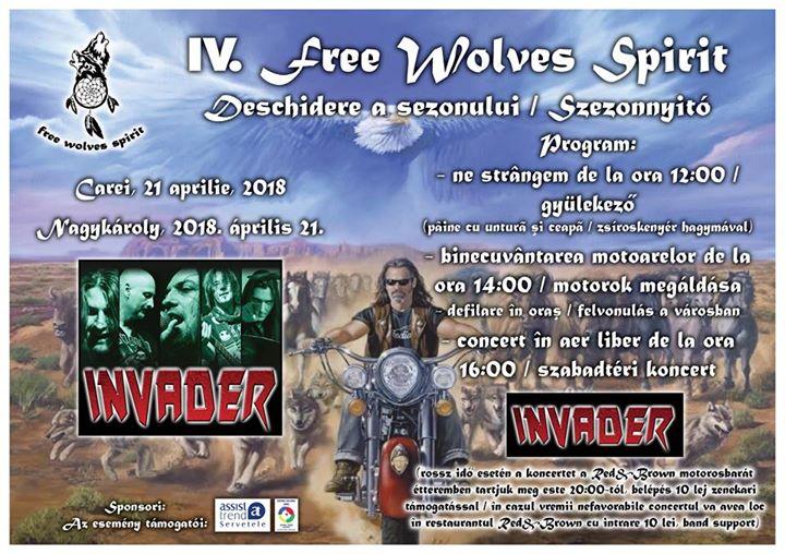 IV Free Wolves Spirit bike blessing & season opening party