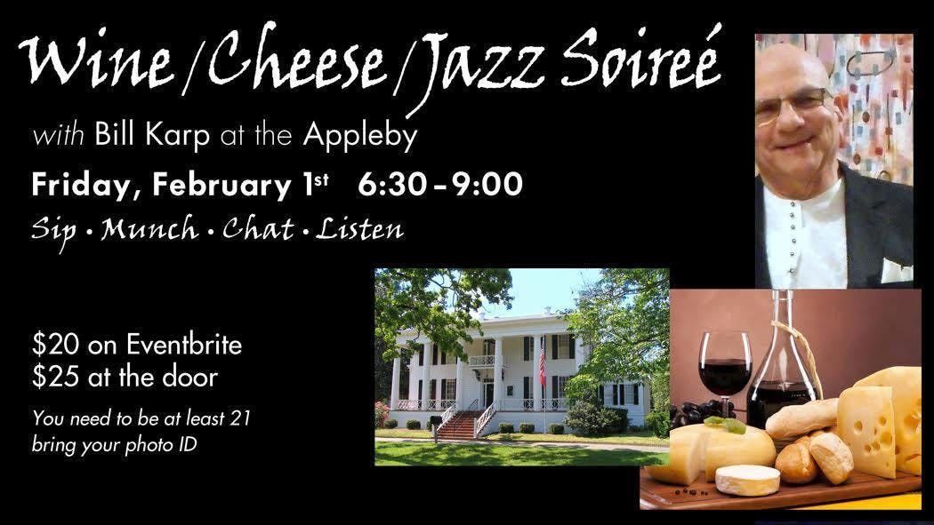 Wine Cheese and Jazz Soiree