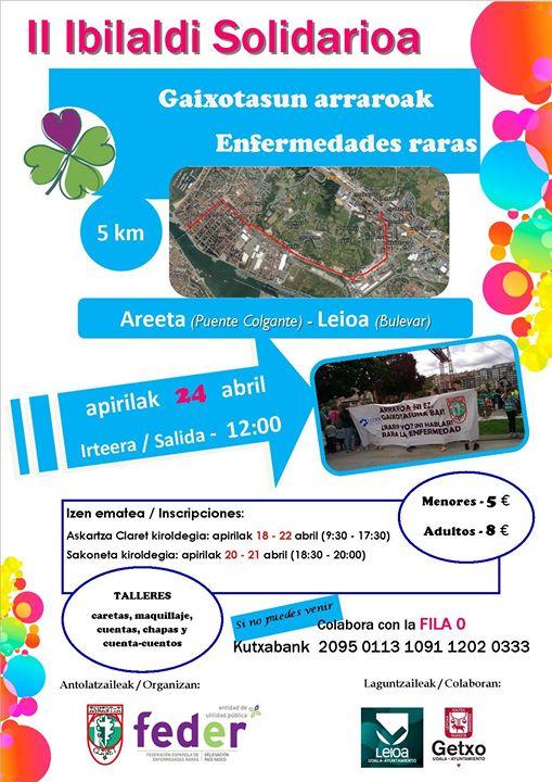 II Ibilaldi Solidario Askartza Claret -FEDER Pais Vasco