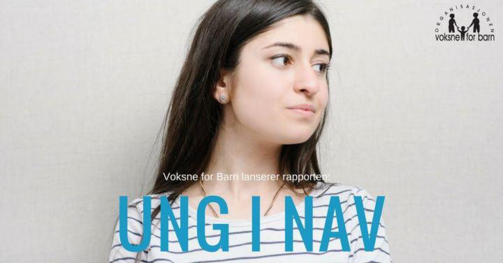 Lansering av rapport Ung i NAV
