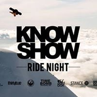 Thursday Knowshow Ride Night