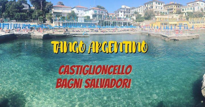 Tango argentino al tramonto at bagni salvadori castiglioncello
