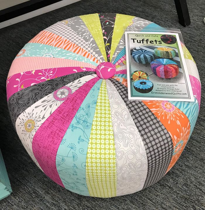 Make A Tuffet Class Is Full At Quilt N Bee Traverse City