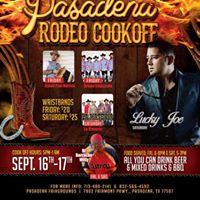 Pasadena Rodeo Cookoff wLos Borrachos Cookers