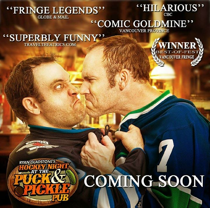 HOCKEY NIGHT AT THE PUCK & PICKLE PUB at the WINNIPEG FRINGE FESTIVAL