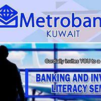 BANKING &amp INVESTMENT LITERACY SEMINAR