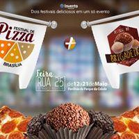 Festival da Pizza  Festival do Brigadeiro