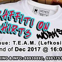 Graffiti on T-shirts Workshop