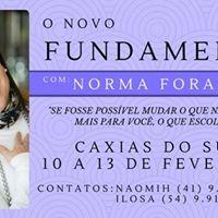 O Fundamento com Norma Forastiere em Caxias do Sul