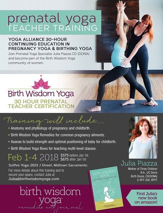 Prenatal Yoga Teacher Training At Solfire Yoga California