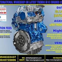 One Day International Workshop On Latest Trends In IC Engines